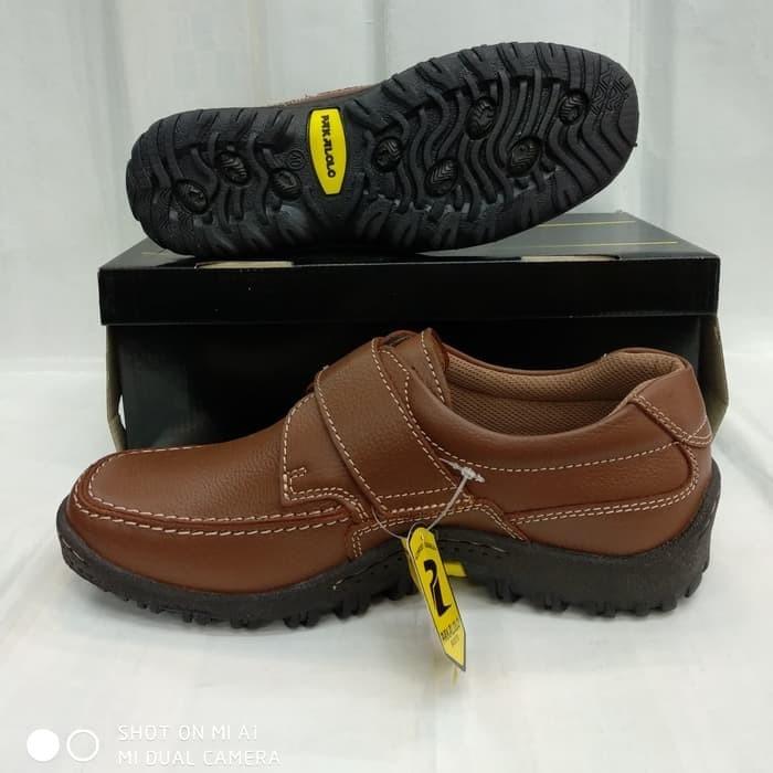 Jual sepatu kulit pakalolo boots N8813 coklat sepatu pantofel pria ... d4f4f0694a