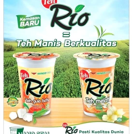 Foto Produk Teh rio rasa gula batu & madu 190ml isi 24cup dari AA JAYA 2
