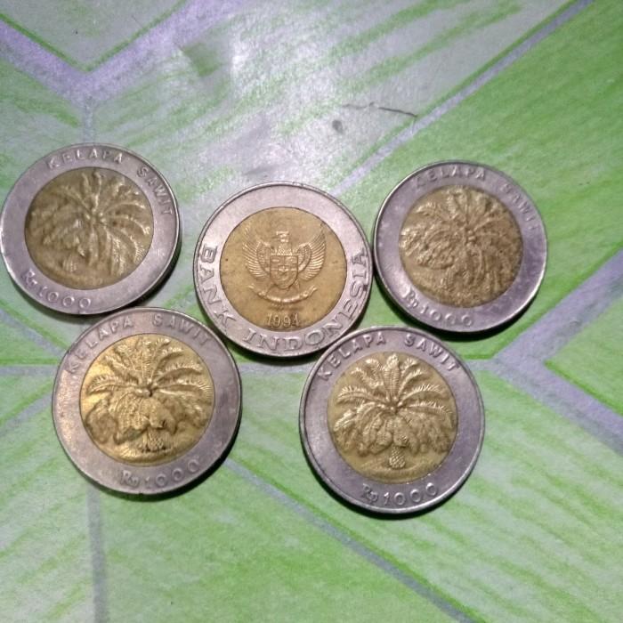 harga Koleksi Uang Kuno Koin 1000 Kelapa Sawit Tokopedia.com