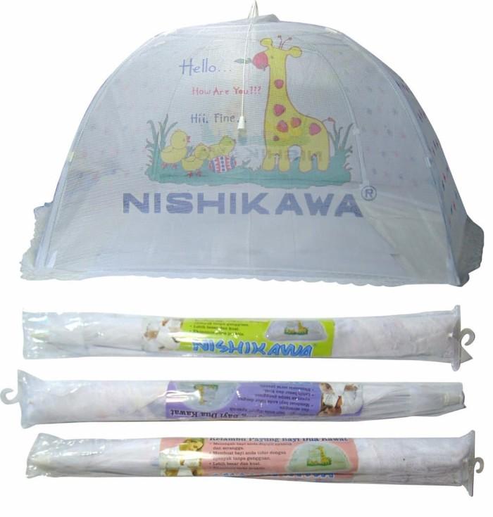 Jual Stok Terakhir Kelambu Bayi Nishikawa Payung 2 Kawat Aksesoris