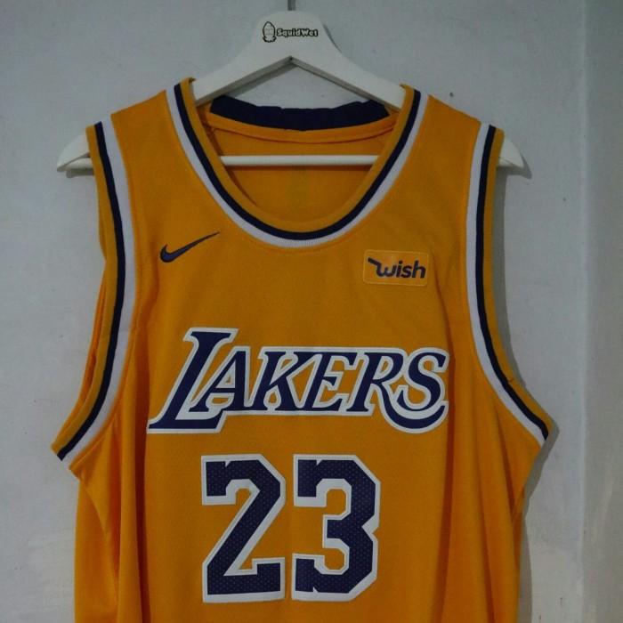 classic fit da47a f255d Jual Lakers Lebron James Jersey - Kab. Karawang - Squidwet | Tokopedia