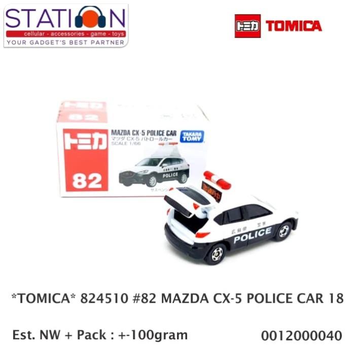 Jual TOMICA 824510 #82 MAZDA CX-5 POLICE CAR 18 - Station Group | Tokopedia