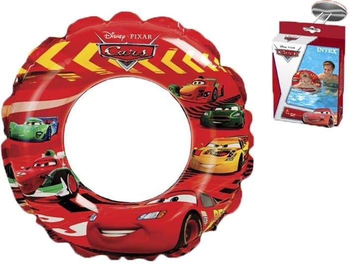 Ban renang anak bulat cars intex 58260 pelampung mobil car swim ring