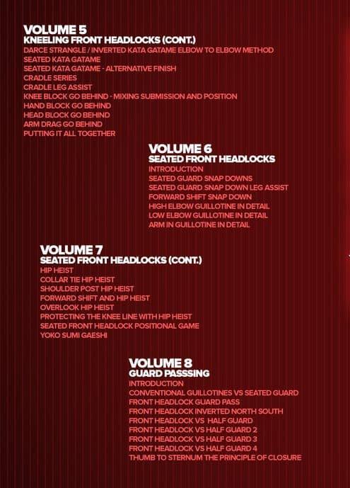 Jual Front Headlock Enter The System Part 2-John Danaher - Kota Kediri -  Video Beladiri | Tokopedia