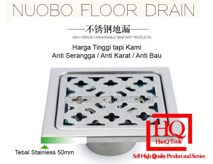 Foto Produk Saringan Got Floor Drain Kamar Mandi Anti Karat Serangga Kecoa Bau dari HanQ Tools