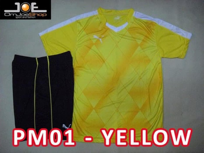 Jual Best Seller Setelan baju Futsal Bola Puma Printing Evo Power ... 74f639fc33