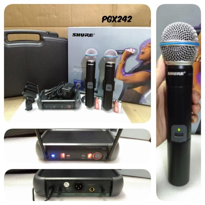 harga Mic wirelles shure pgx 242 / microphone shure pgx 242 Tokopedia.com