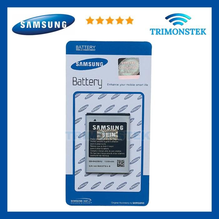 harga Baterai battery samsung galaxy fame s6810 eb494358vu / eb-l1p3dvu orig Tokopedia.com