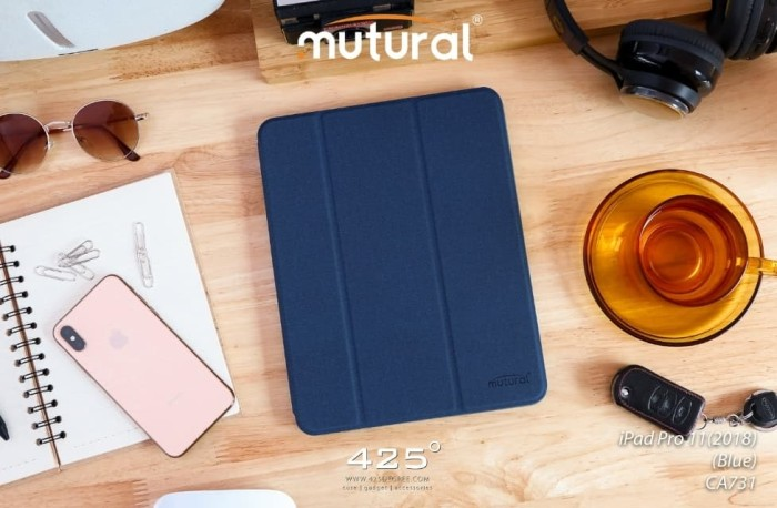 harga Ipad mini 5 2019 7.9 inci mutural original flip case leather slot pen Tokopedia.com