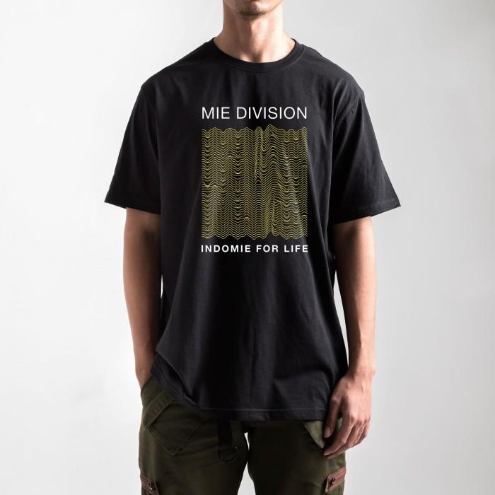 harga Indomie s/s mie division - black - hitam xl Tokopedia.com