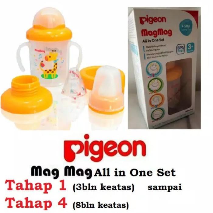 harga Botol Minum Bayi Training Cup Pigeon Magmag Terbaru Blanja.com
