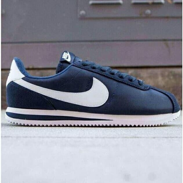 new style 12b9c 9c6d4 Jual Nike Cortez Navy Swoosh White - , - Kota Medan - Toko Bersama dengan |  Tokopedia