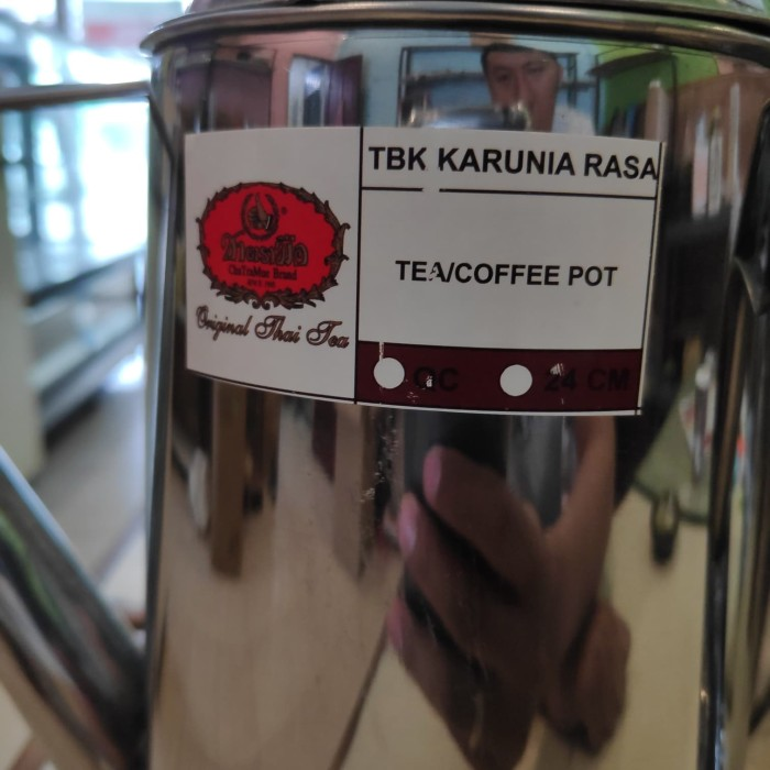 Teko stainless thaitea/greentea