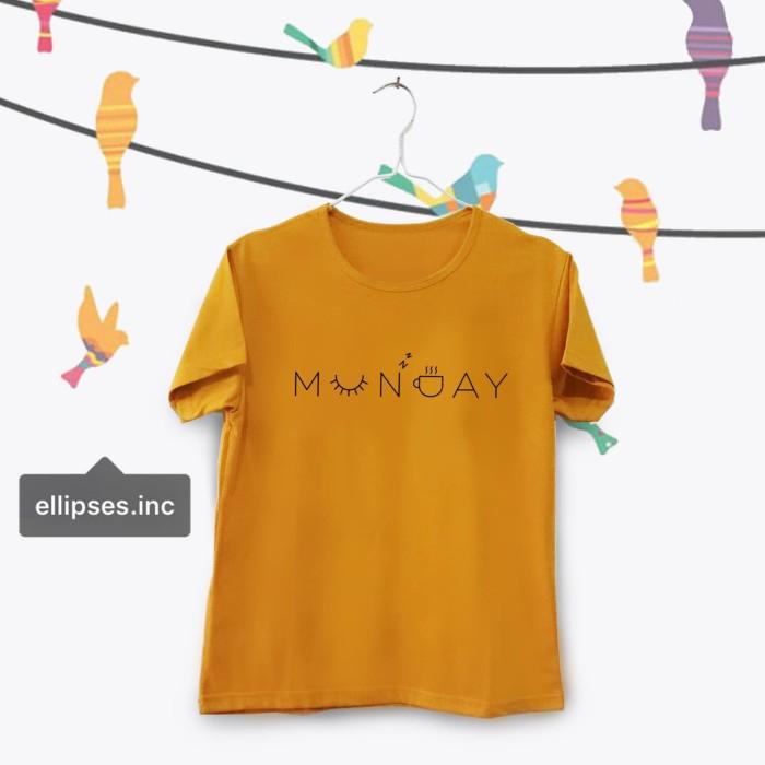 Jual Tumblr Tee T Shirt Kaos Wanita Lengan Pendek Munday Warna Mustard Jakarta Barat Ellipses Inc Tokopedia