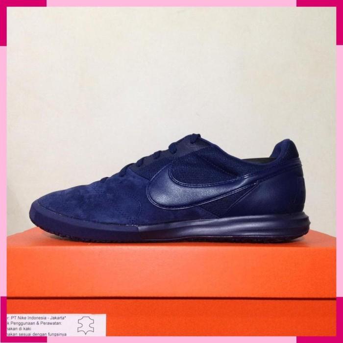 d3c668613 Jual Sepatu Futsal Nike Premier II Sala Midnight Navy AV3153-441 ...