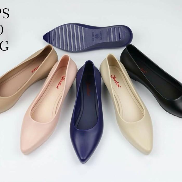2948516d7 Jual jelly shoes sepatu wedges sepatu wanita sepatu kerja promo import -  Hitam, 40 - lovenkri | Tokopedia