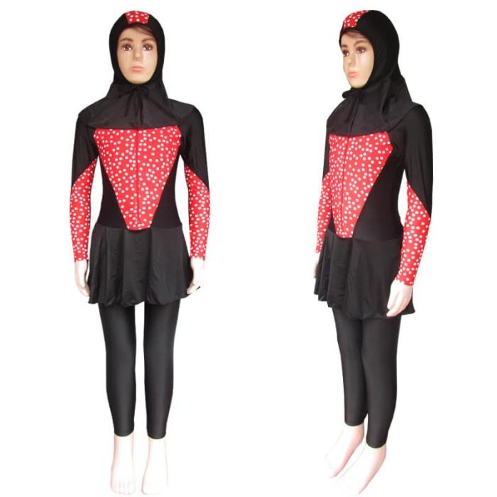Baju Renang Anak Muslim Bram - M191tk