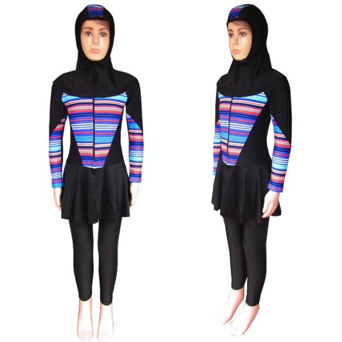 Baju Renang Anak Muslim Bram - M192tk