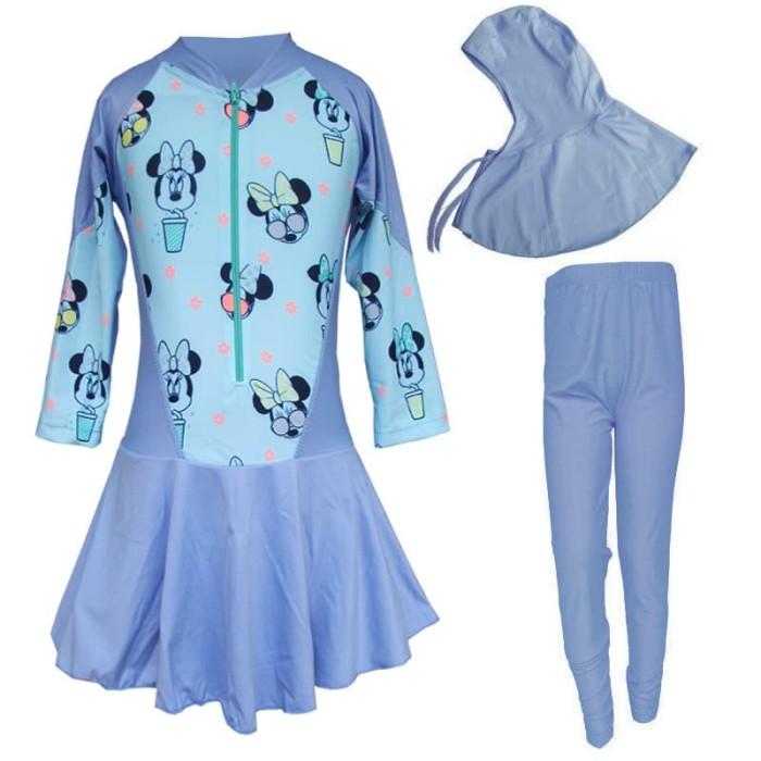 Baju Renang Anak Muslim Bram - M195tk