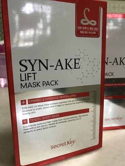 Secret Key Syn Ake Whitening And Anti Aging Mask