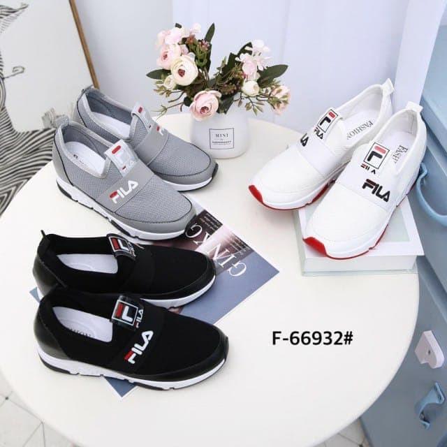 29d0ac3541 Jual Sepatu Fila Sneakers F-66932/932 Semi Premium - Hitam, 36 ...