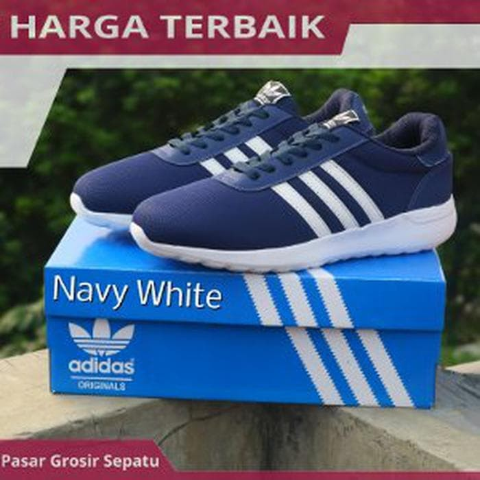 Jual Promo Sepatu Casual Adidas Neo Cloud Foam Lite Speed Energy B ... 6c51a5d323