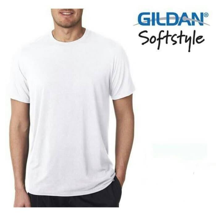 Kaos polos Gildan softstyle 63000 Import Original size s-xl kaos murah - royal blue