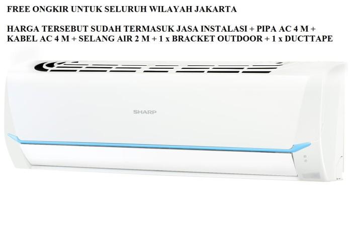 Jual Promo Ac Sharp 1 2 Pk Ah A5say Freon R 32 390 Watt Dki Jakarta Era Gemilang Elektronik Tokopedia