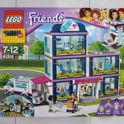Jual Lego Friends 41318 Heartlake Hospital Fitri Olstore Tokopedia