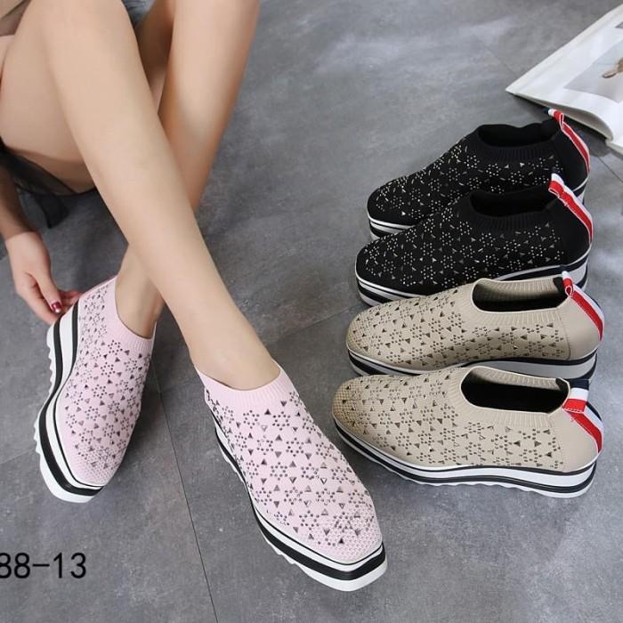 d78c76e72acc Jual Monna Vania Shoes Sneakers wedges wedges fashion sepatu murah ...