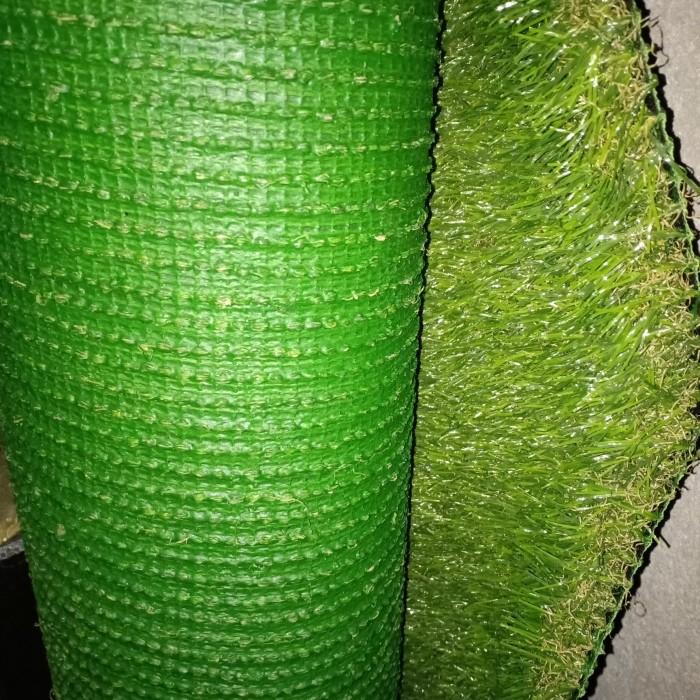 Foto Produk karpet palsu rumput sintetis jepang P.50cmxL50cm/pcs dari ridho taman