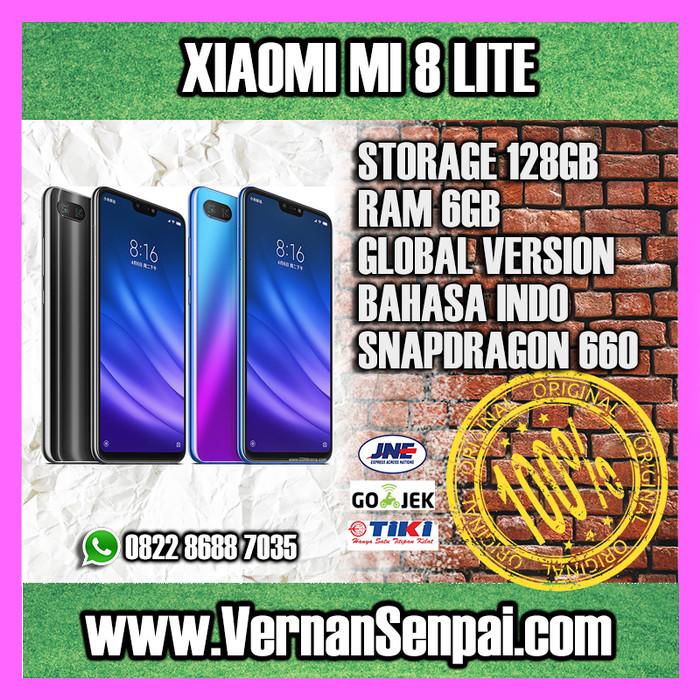 Xiaomi Mi8 Lite 6GB / 128GB Youth Edition MI 8 Snapdragon 660 - Hitam