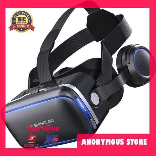 harga Shinecon 6.0 vr box virtual reality dengan headphone Tokopedia.com