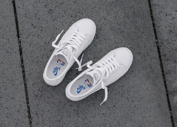 pretty nice ae8ee db0b6 Jual NBA x Nike SB Zoom Blazer Low - White - Kota Depok - TwntyVIBES |  Tokopedia