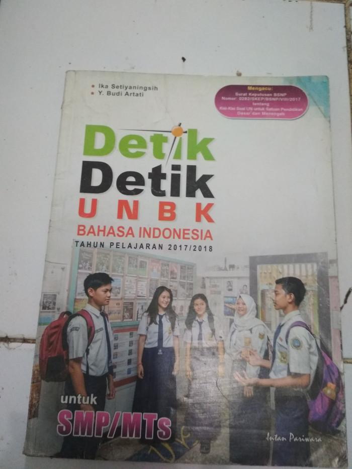 Kunci Jawaban Detik Detik Smp 2018 Bahasa Indonesia Guru Galeri