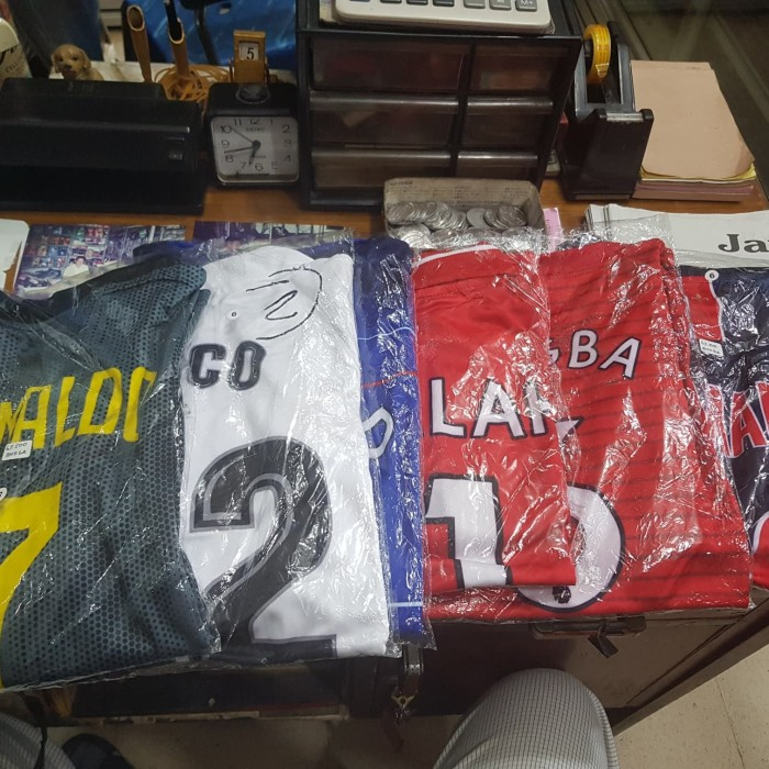 harga Kostum jersey sepak bola anak klub stelan Tokopedia.com