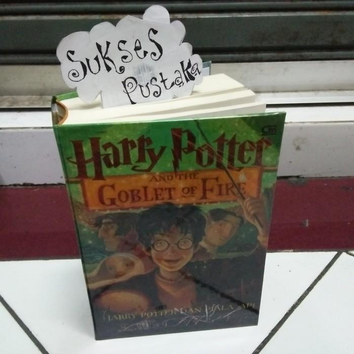 harga Harry potter dan piala api jilid 4 - harry potter hard cover Tokopedia.com