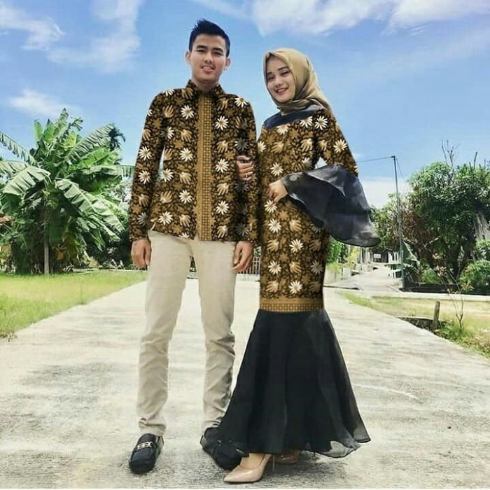 48 Model Baju Couple Duyung Paling Hist