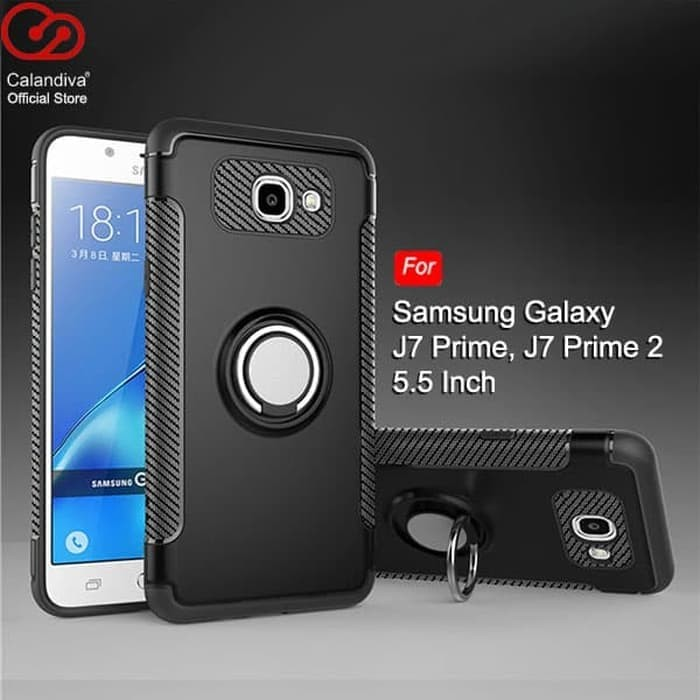 designer fashion 609b1 4da21 Jual Hardcase Ring Holder Carbon Keren Cover Case Casing Samsung J7 Prime -  DKI Jakarta - Tokosidiia Acc | Tokopedia