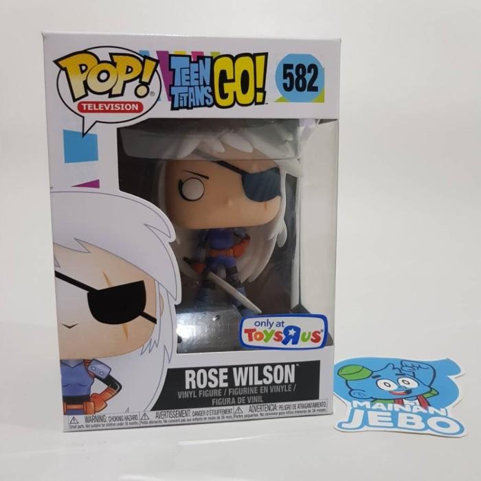 Vinyl Figure NEW Funko Teen Titans Go! Rose Wilson US Exclusive Pop