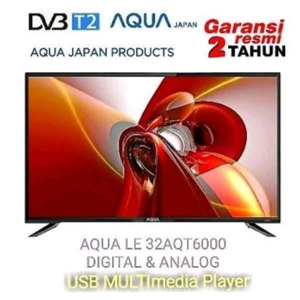 SANYO AQUA LE32AQT6000T LED DIGITAL TV 32 INCH DVB-T2 HDMI VGA USB
