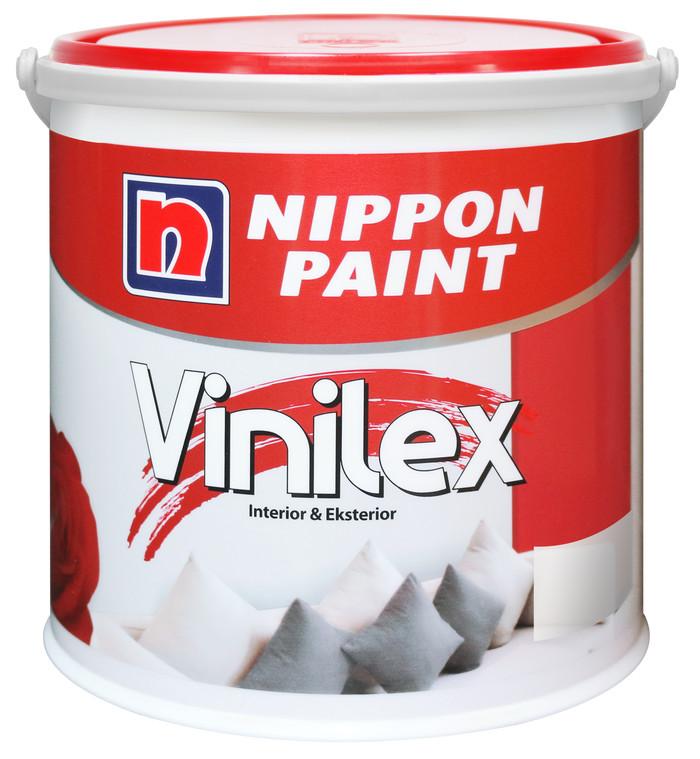 harga Cat tembok vinilex 5 kg - nippon paint vinilex kembang 5kg Tokopedia.com