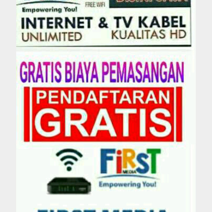 internet wifi unlimited FIRST MEDIA