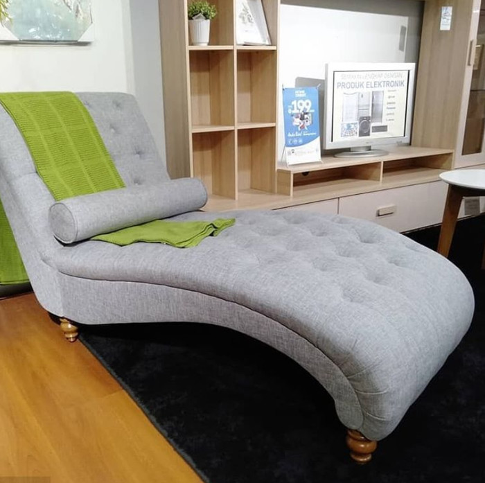 Jual Interior Furniture London Chaise Sofa Bed Santai Informa Kota Depok Isafashope Tokopedia