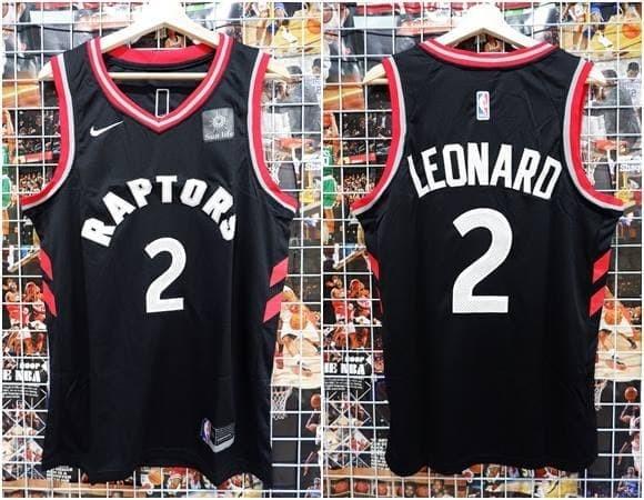 info for 9dfeb b157b Jual Jersey Swingman NBA Toronto Raptors #2 Kawhi Leonard Hitam - Kota  Batam - Top Sneaker Store | Tokopedia