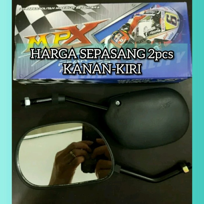 Spion Standar MIO Smile/Sporty Variasi Drat Yamaha Model Ori/Original