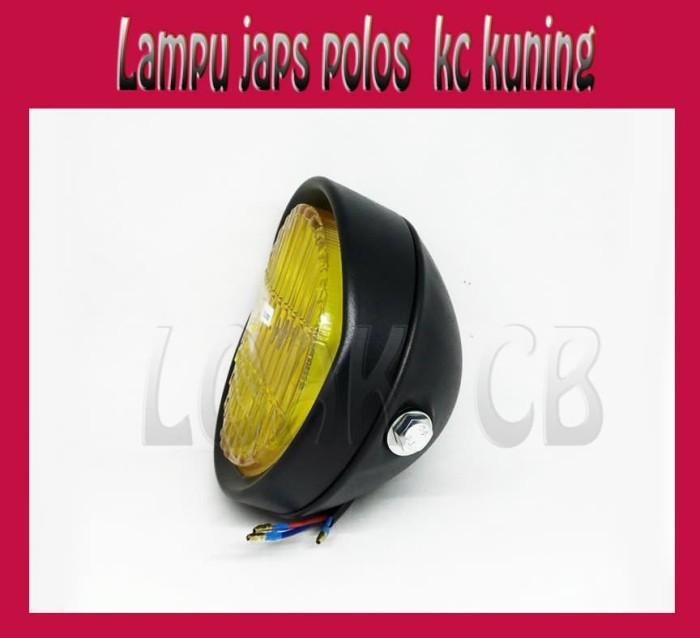 harga Lampu depan japstyle / cafe racer hitam wilwood Tokopedia.com
