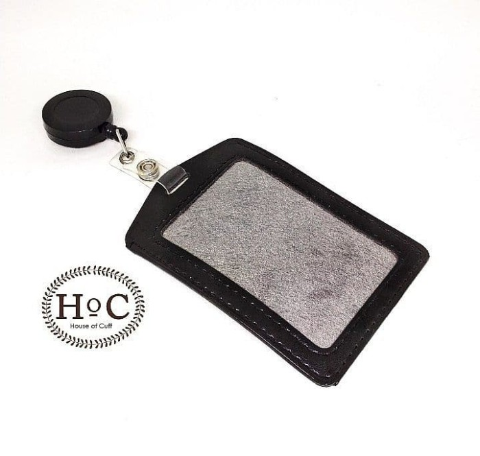harga Houseofcuff id card id card holder black - hitam Tokopedia.com