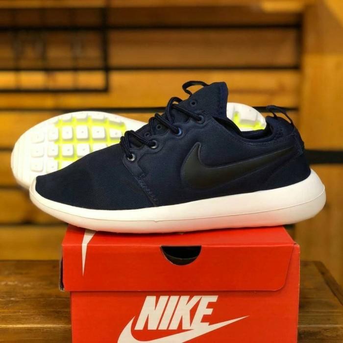 926cfa290290 Jual Sepatu Nike Roshe Two 2 Navy White - SHOPECIOUS.ID