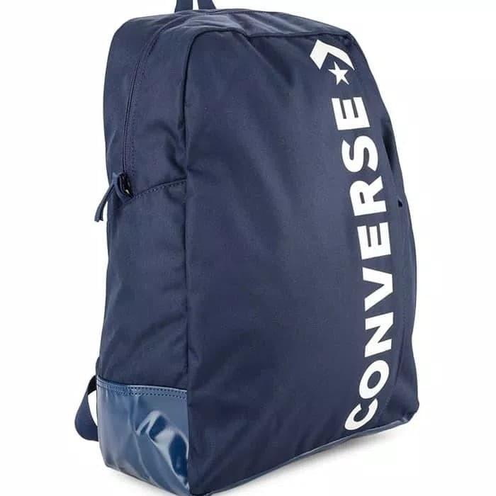 6749badee855 Jual Tas Converse Backpack Speed 2.0 Navy 100% Original - DKI ...